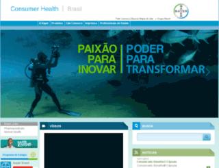 bayerconsumer.com.br screenshot