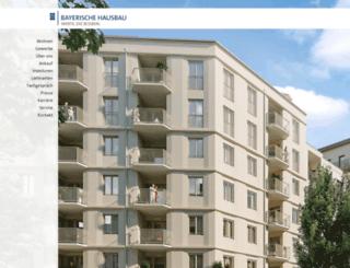 bayerische-hausverwaltung.de screenshot