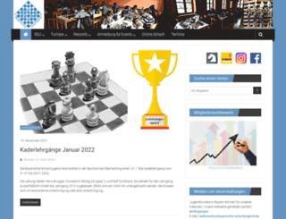 bayerische-schachjugend.de screenshot