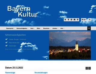 bayern-kultur.de screenshot