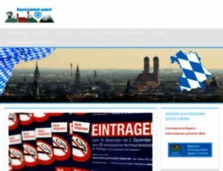 bayern-sagt-nein.de screenshot