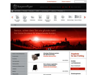 bayernflyer.de screenshot