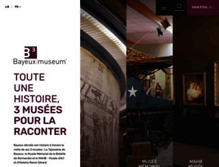 bayeuxmuseum.com screenshot