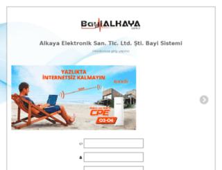 bayi.alkayaelektronik.com screenshot