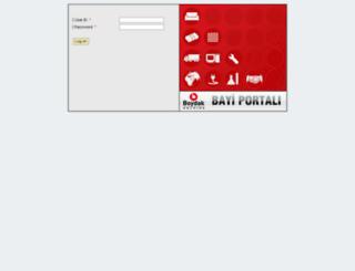bayi.boydak.com screenshot