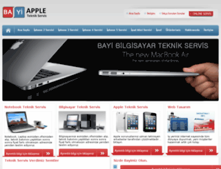 bayiapple.com screenshot
