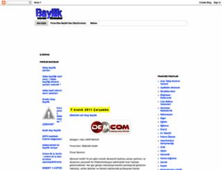 bayilikverenfirmalar.blogspot.com screenshot