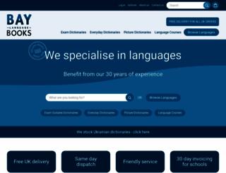 baylanguagebooks.co.uk screenshot