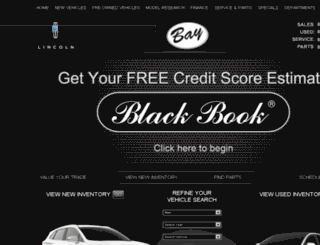 baylincoln.dealerconnection.com screenshot