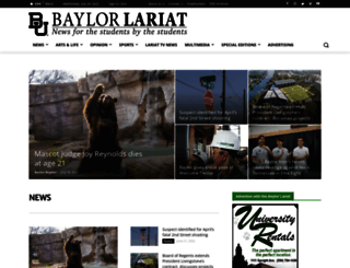 baylorlariat.com screenshot