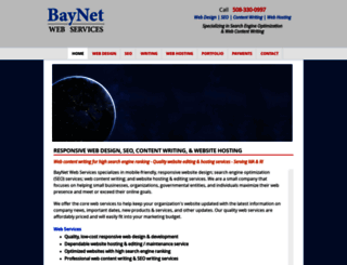 baynetwebservices.com screenshot