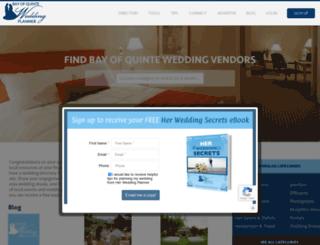 bayofquinteweddingplanner.com screenshot