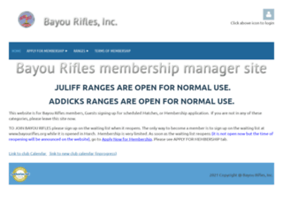 bayourifles.wildapricot.org screenshot