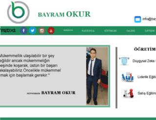 bayramokur.com screenshot