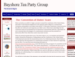 bayshoreteaparty.org screenshot