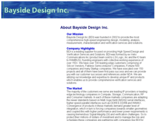 baysidedesign.com screenshot