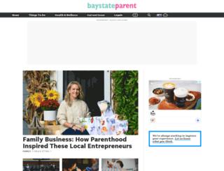 baystateparent.com screenshot