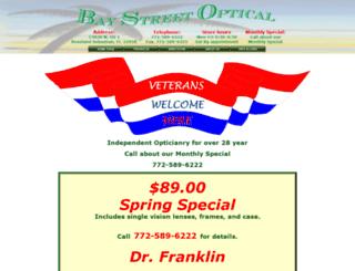 baystreetoptical.com screenshot
