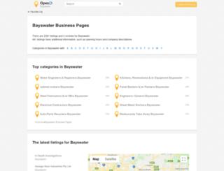 bayswater.opendi.com.au screenshot