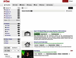 baytown.claz.org screenshot
