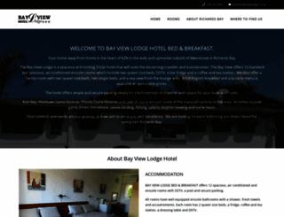 bayviewlodge.co.za screenshot
