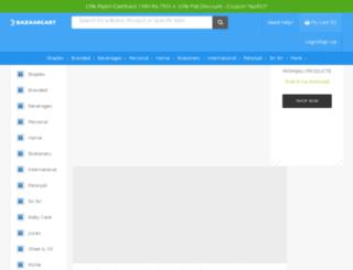 bazaarcart.com screenshot