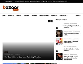 bazaardaily.com screenshot