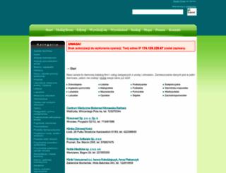 bazamedyczna.net screenshot