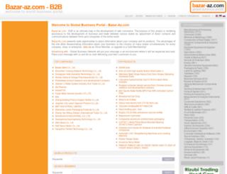 bazar-az.com screenshot