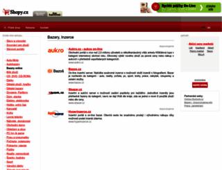 bazar.shopy.cz screenshot