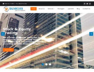 bazarclicks.com screenshot