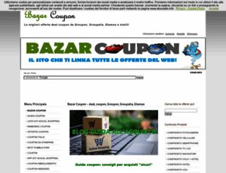 bazarcoupon.com screenshot
