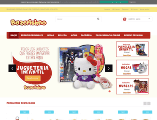 bazarisimo.com screenshot