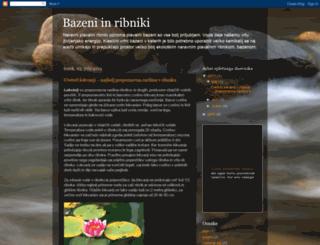 bazeni-ribniki.blogspot.com screenshot