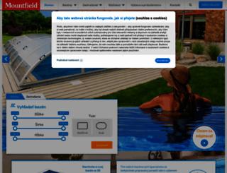 bazeny.mountfield.sk screenshot