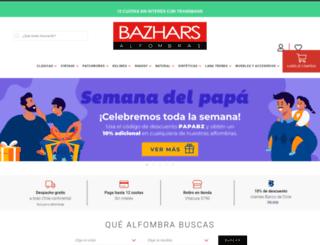 bazhars.cl screenshot