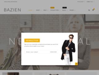 bazien-1.myshopify.com screenshot