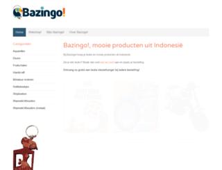 bazingo.nl screenshot