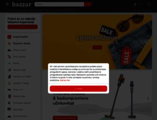 bazzar.hr screenshot