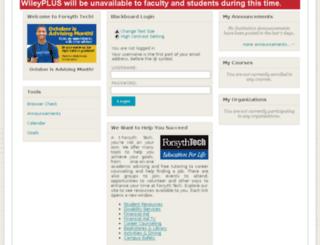 bb.forsythtech.edu screenshot