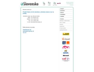 bb.mesto.sk screenshot