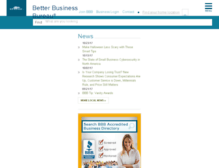 bbbnorcentx.org screenshot