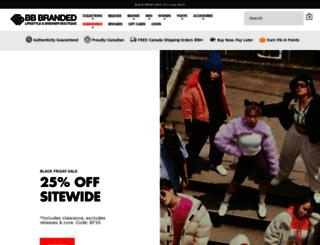bbbranded.com screenshot