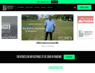 bbbsa.org screenshot