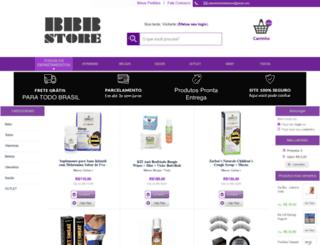 bbbstore.com.br screenshot