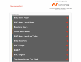 bbc-news.tech screenshot