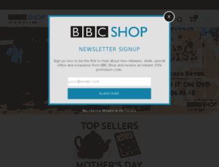 bbccanadashop.com screenshot