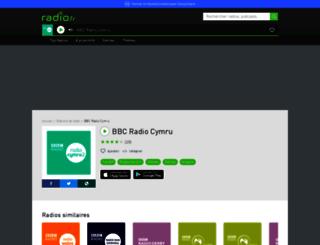 bbcradiocymru.radio.fr screenshot