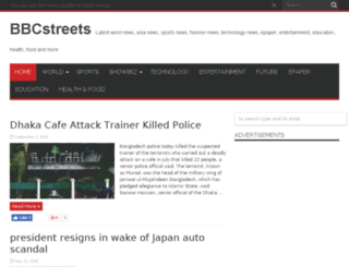 bbcstreets.com screenshot