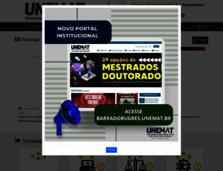 bbg.unemat.br screenshot